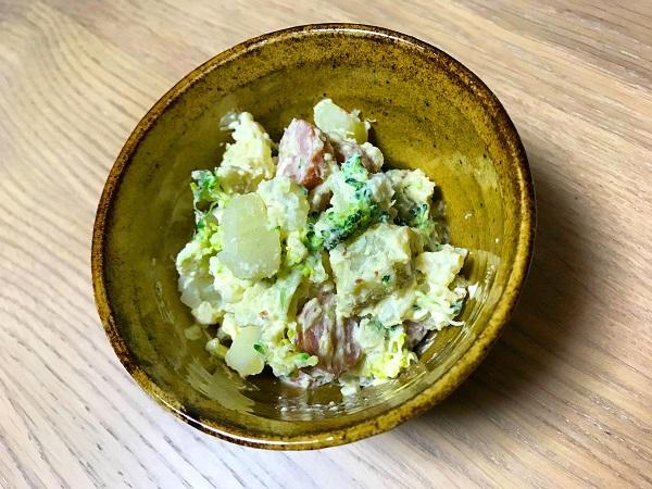 ブロッコリーとウィンナーのポテトサラダ