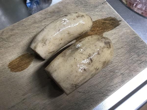 牛肉れんこん醤油マヨ和えの作り方
