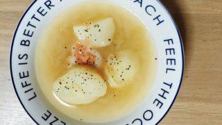 明太じゃがバタースープ