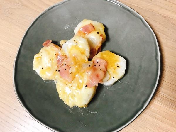 長芋とベーコンのチーズ焼き