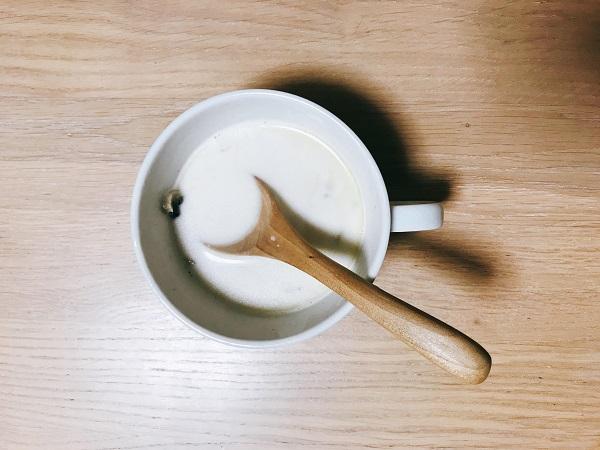 玉ねぎとマッシュルームのミルクスープ