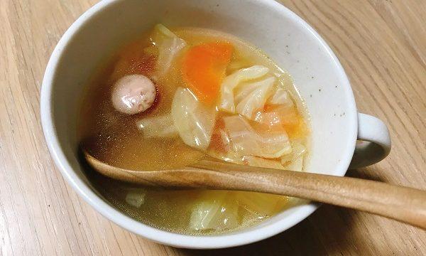 ウィンナーと野菜のスープ