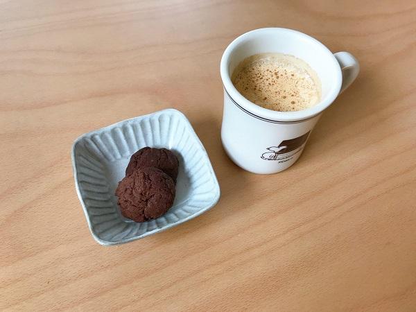 ココアとマーマレードのドロップクッキー