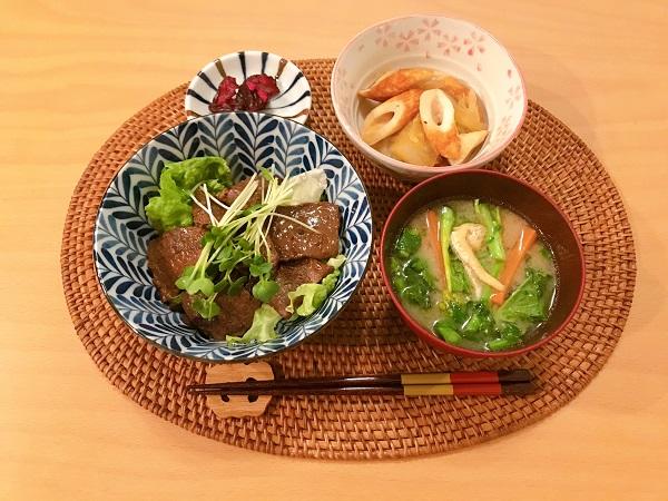 焼肉丼の日